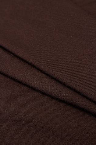 Dzianina jersey bambusowy - czekoladowy - 170cm 220g/m2 thumbnail