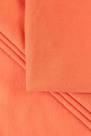 Dzianina jersey wiskozowy - koralowy - 155cm 300g/m2 thumbnail