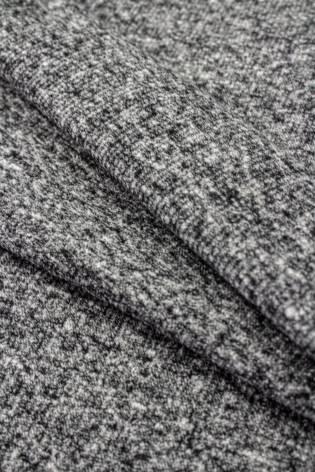 Ściągacz prążkowany - ciemnoszary melanż - 50cm/100cm 270g/m2 thumbnail