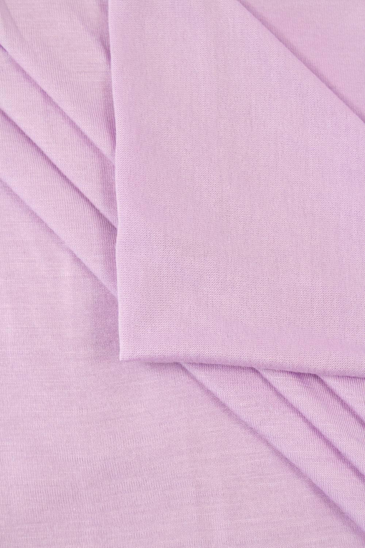 Dzianina jersey wiskozowy casablanca - lawendowy - 150cm 150g/m2