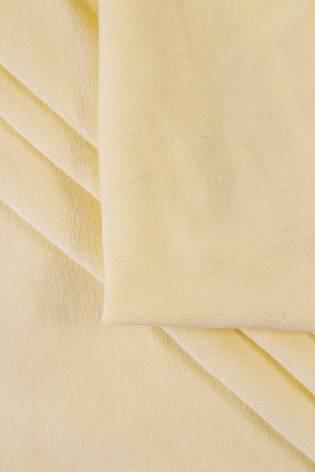 Dzianina jersey wiskozowy - pudrowy żółty -  160cm 220g/m2 thumbnail