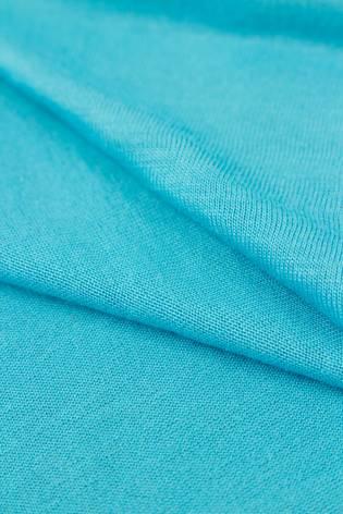Dzianina jersey wiskozowy casablanca - turkusowy - 150cm 150g/m2 thumbnail