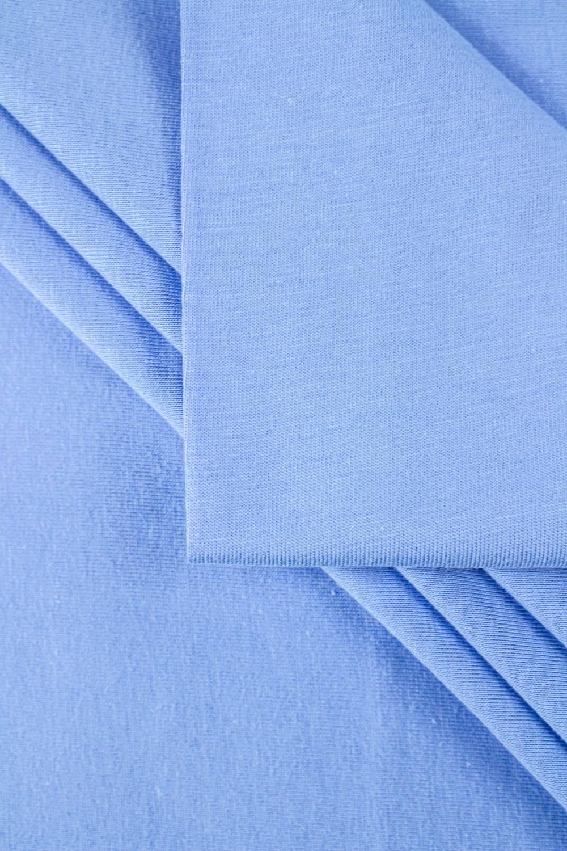 Dzianina jersey bawełniany błękitny - 85cm/170cm 140g/m2