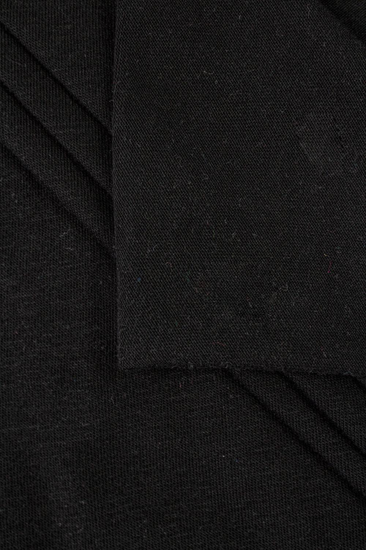 Dzianina jersey wiskozowy - czarny - 190cm 120g/m2