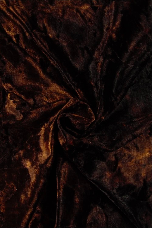 Knit - À la Velvet - Brown - 6 rm (Pre-cut)