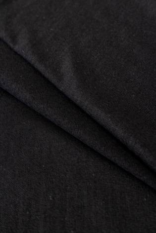 Dzianina jersey wiskozowy casablanca - czarny - 150cm 150g/m2 thumbnail