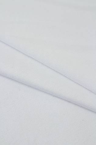 Dzianina interlock bawełniany delikatny biały 160cm 140g/m2 thumbnail