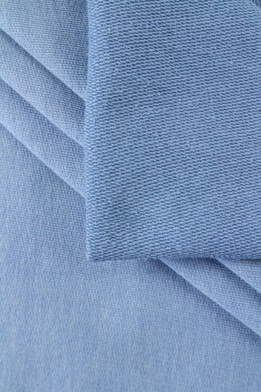 Dzianina dresowa pętelka błękitna - 100cm/200cm 270g/m2
