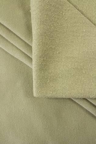 Dzianina dresowa pętelka oliwkowy - 95cm/190cm 250g/m2 thumbnail