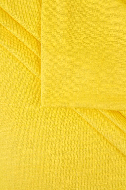 Dzianina jersey wiskozowy - słoneczny żółty - 155cm 210g/m2