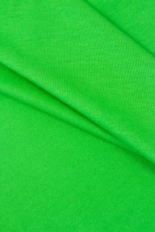 Dzianina jersey wiskozowy - zielone jabłuszko - 155cm 210g/m2 thumbnail