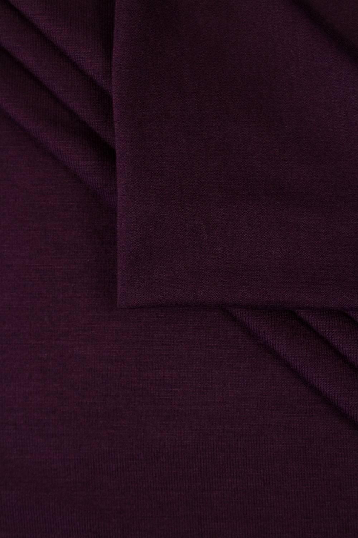 Dzianina jersey wiskozowy - burgundowy- 160cm 220g/m2