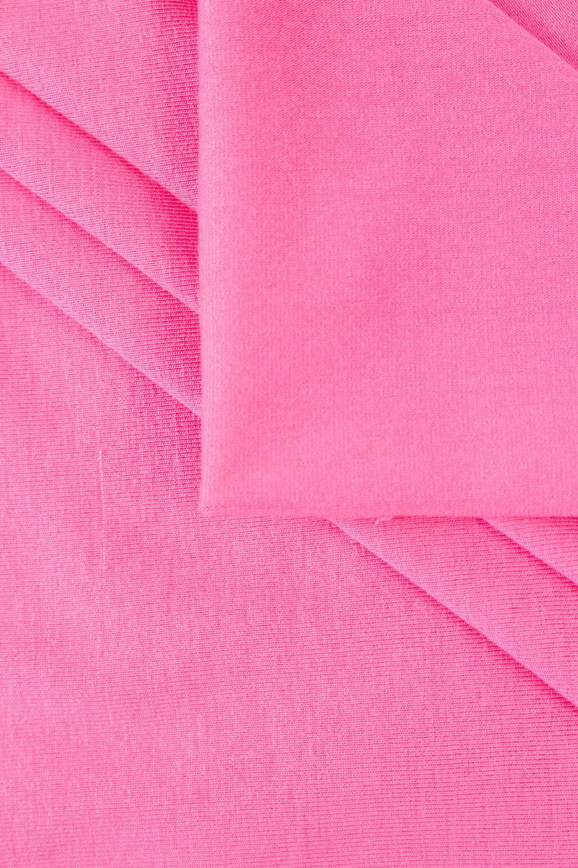 Dzianina jersey wiskozowy - różowy - 155cm 220g/m2