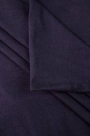 Dzianina jersey wiskozowy - ciemny fiolet - 160cm 220g/m2 thumbnail