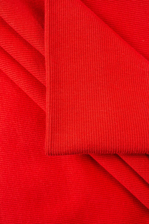 Ściągacz prążkowany - czerwony - 50cm/100cm 340g/m2