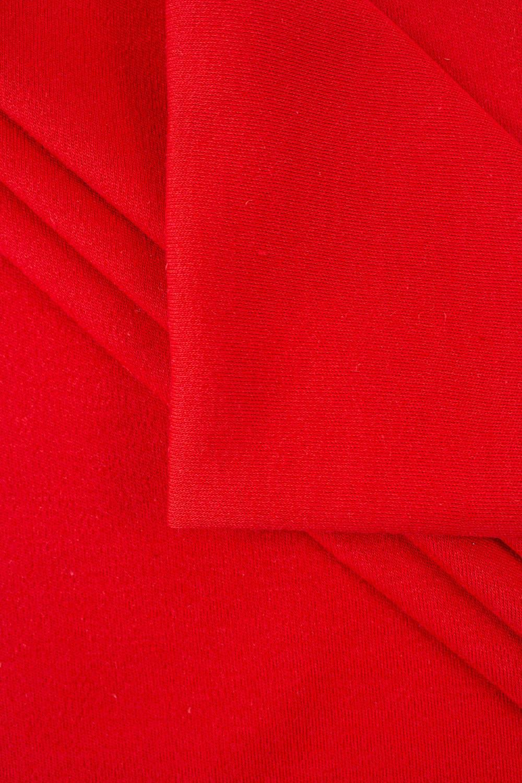 Dzianina interlock czerwone - 175cm 200g/m2