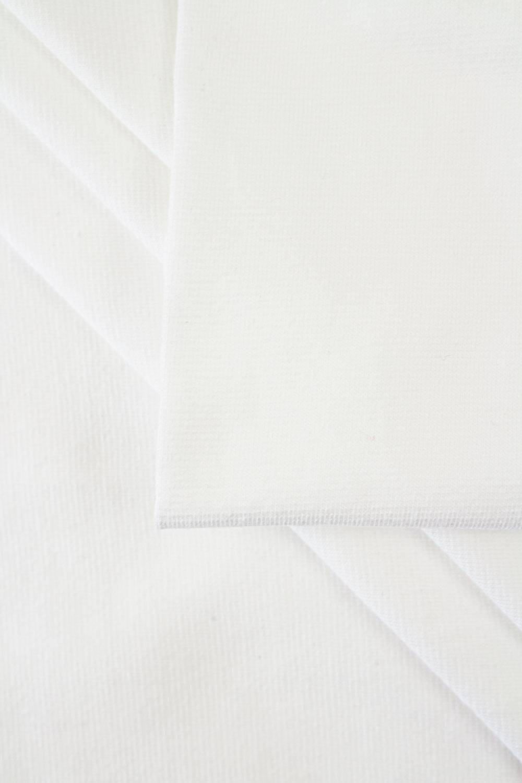 Ściągacz gładki - biały - 85cm/170cm 180g/m2