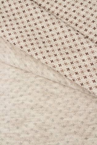 Dzianina jersey bawełniana w krzyżyki - 165cm 140g/m2 thumbnail
