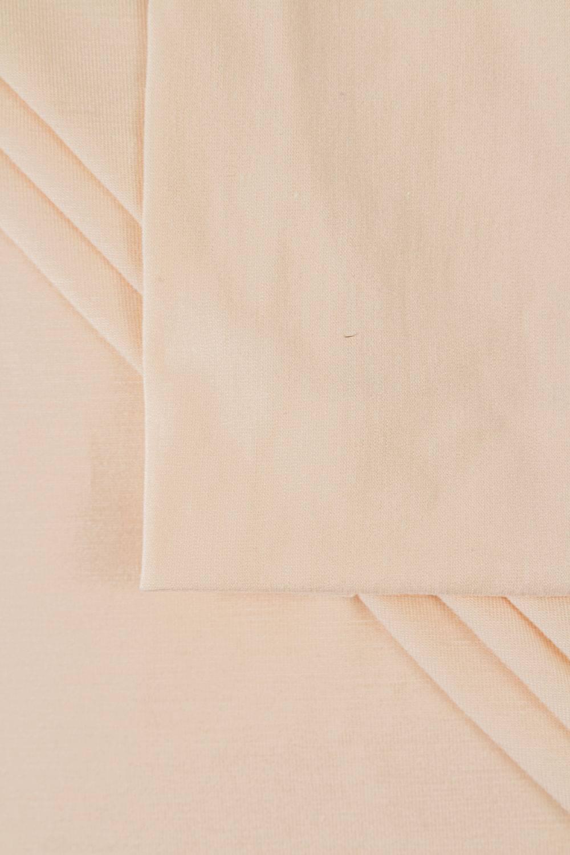 Dzianina jersey wiskozowy - pudrowy - 165cm 180g/m2
