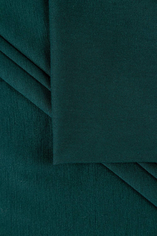Dzianina jersey wiskozowy lux o dotyku modalnym - szmaragdowy - 160cm 180g/m2