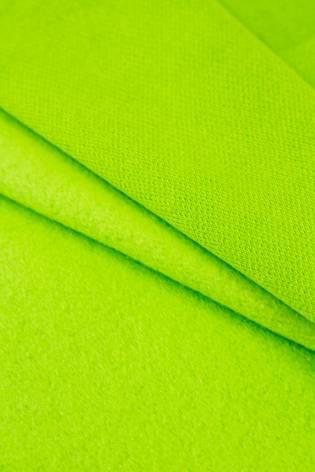 Dzianina dresowa drapana - zielony - 90cm/180cm 250g/m2 thumbnail