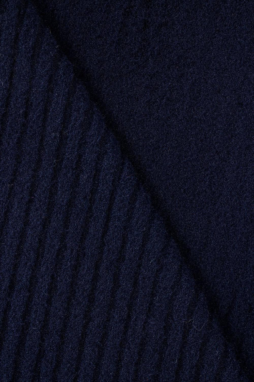 copy of Wełna fantazyjna parzona sweterkowa - niebiesko-fioletowa - 150cm 90g/m2
