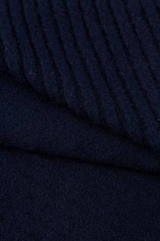 Dzianina polarowa prążek granatowy - 165cm 240g/m2 thumbnail