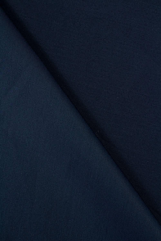 Tkanina satynowana - granatowy - 150cm 180g/m2