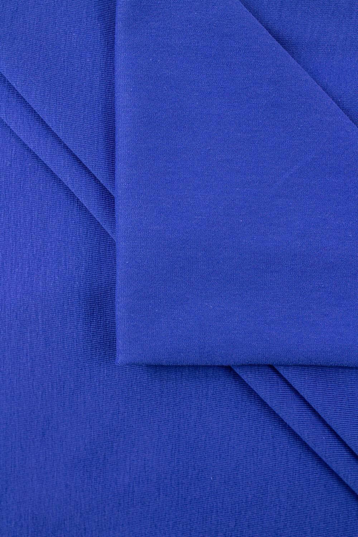 Dzianina jersey wiskozowy - kobaltowy - 170cm 180g/m2