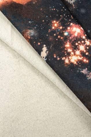 Dzianina dresowa drapana - galaxy - 160cm 290g/m2 thumbnail