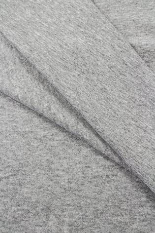 Dzianina jersey bawełniany szary melanż - 180cm 200g/m2 thumbnail