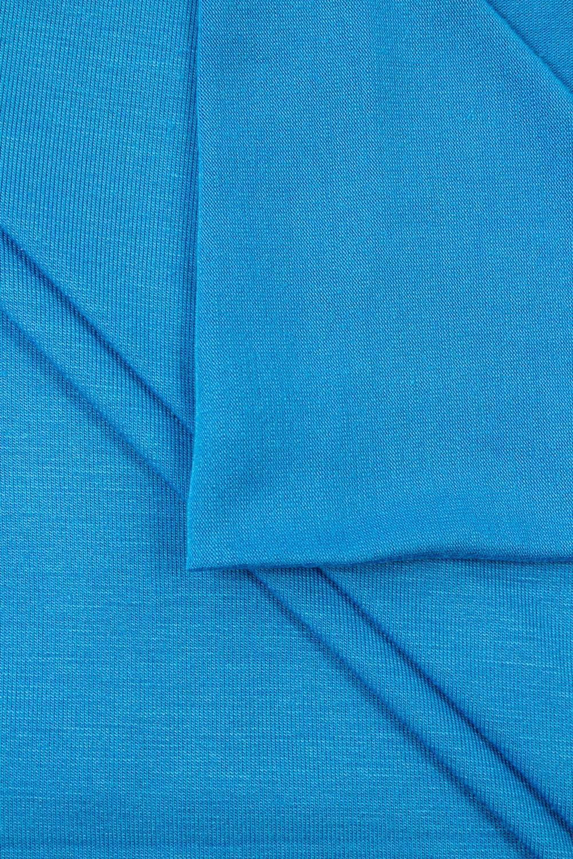 Dzianina jersey wiskozowy - blue sea - 180cm 180g/m2