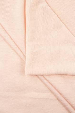 Dzianina jersey wiskozowy - brzoskwiniowy - 160cm 140g/m2 thumbnail