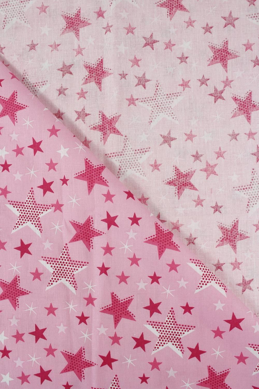 Tkanina bawełniana pościelowa gwiazdki - 215 cm 110 g/m2