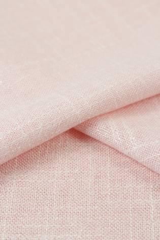 Tkanina a'la len brudny róż 150 cm 250 g/m2 thumbnail