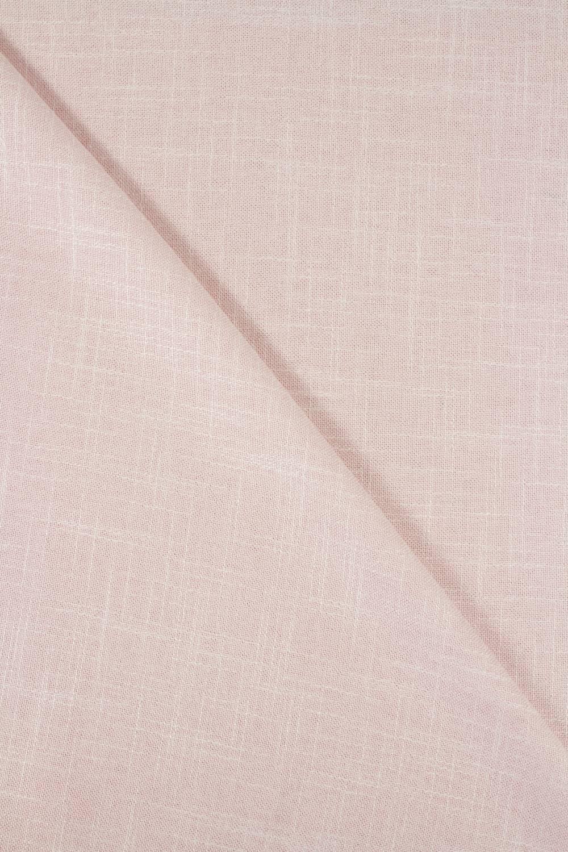 Tkanina a'la len brudny róż 150 cm 250 g/m2