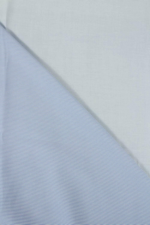 Tkanina wiskozowa w delikatne niebieskie paski 150 cm 120 g/m2