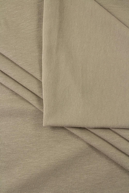Dzianina jersey bawełniany beżowy - 180cm 160g/m2