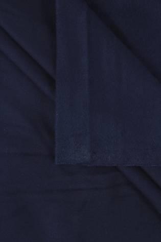 Dzianina dresowa wiskozowa drapana granatowa 155 cm 290 g/m2 thumbnail