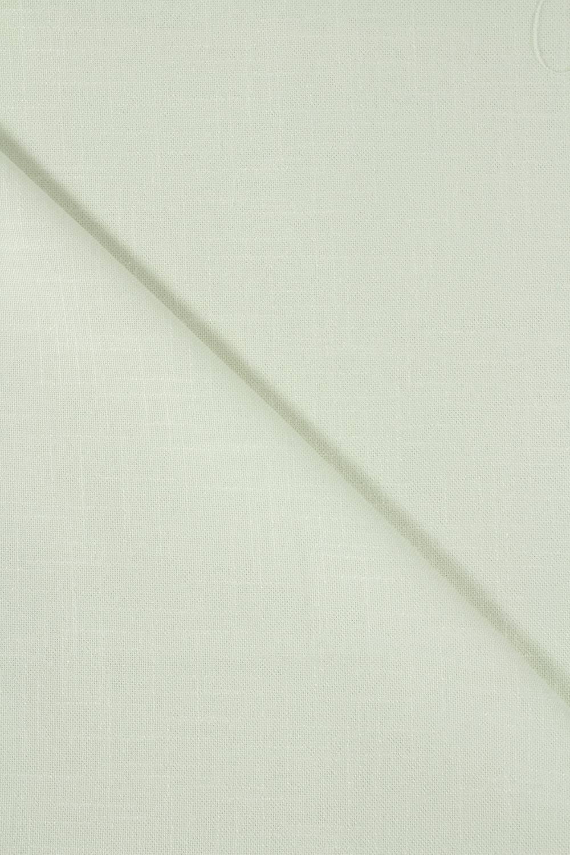 Tkanina a'la len pistacja 150 cm 180 g/m2