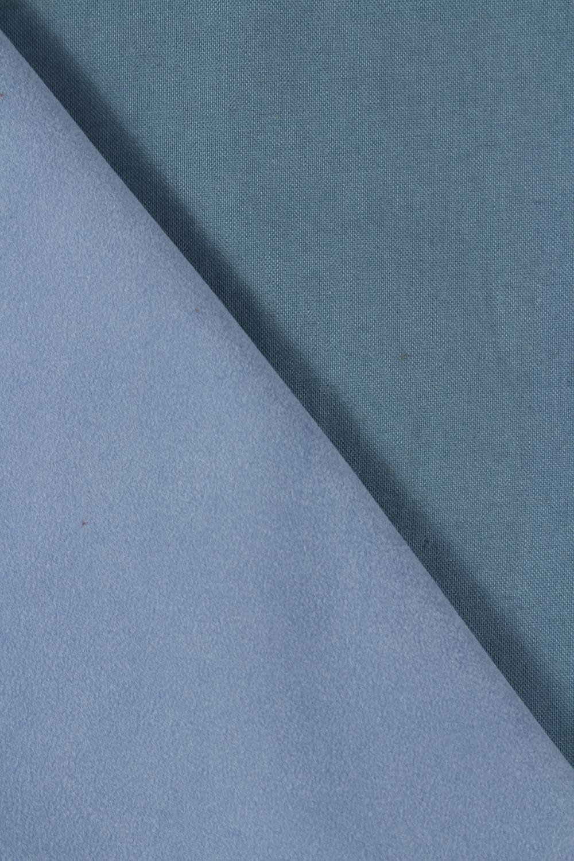 Tkanina zamszowa obiciowa niebieska 150 cm 290 g/m2