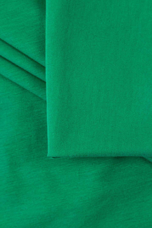 Dzianina jersey wiskozowy - malachitowy - 175cm 170g/m2