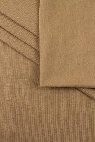 Dzianina jersey bawełniany karmel - 175cm 180g/m2 thumbnail