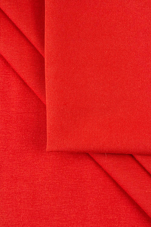Dzianina jersey bawełniany czerwony 180cm 230g/m2