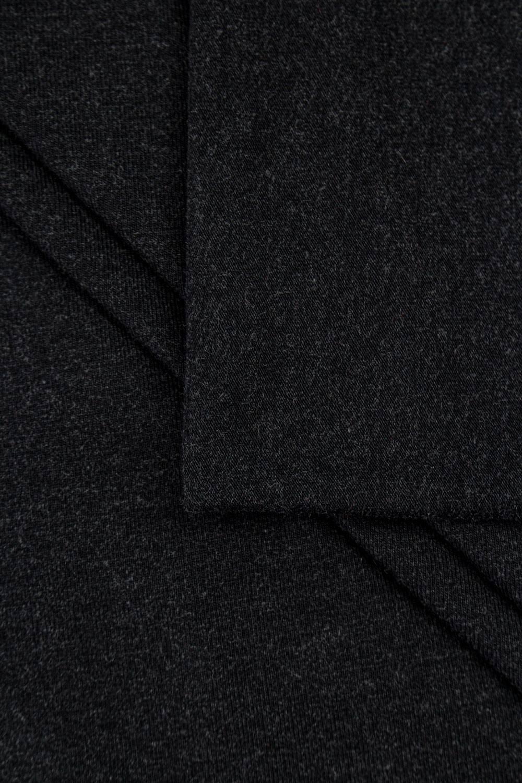 Dzianina jersey wiskozowy - grafitowy - 180cm 200g/m2