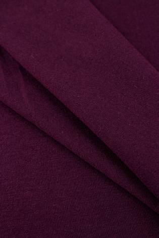 Dzianina jersey bawełniany - purpurowy - 155cm 200g/m2 thumbnail