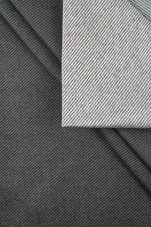 Dzianina dresówka cienka diagonalna - szary - 155cm 270g/m2