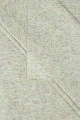 Dzianina punto beżowe w kolorowy melanż 160 cm 230 g/m2 thumbnail