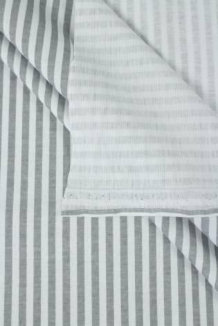 Dzianina jersey w szare paski 175 cm 180 g/m2 thumbnail