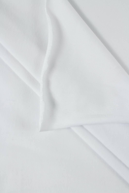 Welur aksamitny elastyczny biały 165 cm 290 g/m2